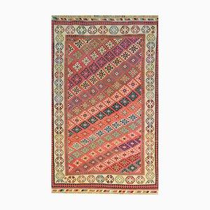 Nahöstlicher Vintage Qashqai Kelim Teppich