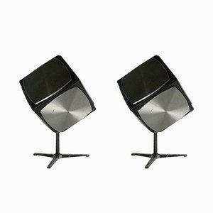 Mid-Century Audiorama Hifi 700 Cubic Speakers by Jacob Jensen, Set of 2