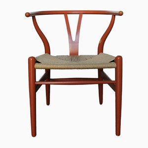 Vintage CH24 Wishbone Chair by Hans J. Wegner for Carl Hansen & Søn