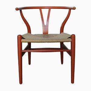 Vintage CH24 Wishbone Stuhl von Hans J. Wegner für Carl Hansen & Søn