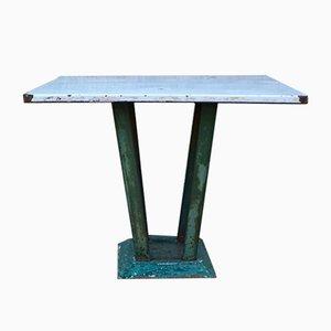 Mesa de jardín industrial, años 50