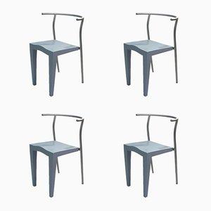 Chaises Dr Glob par Philippe Starck pour Kartell, 1988, Set de 4