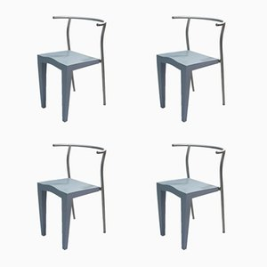 Dr Glob Chairs by Philippe Starck for Kartell, 1988, Set of 4