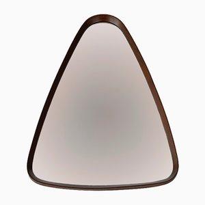 Mid-Century Teak Wood Mirror