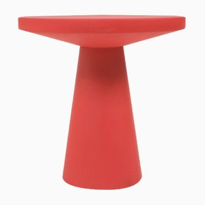 Red Thuthu Stool by Patty Johnson
