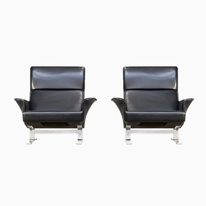 Lounge Chairs by Georg Thams for Vejen Mobelfabrik A/S, 1970s, Set of 2