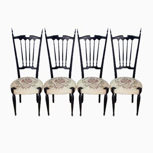 Chiavari Chairs, 1960s, Set of 4