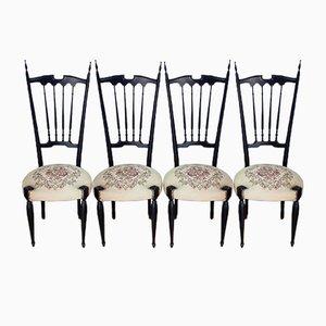 Chiavari Chairs, 1960s, Set of 4