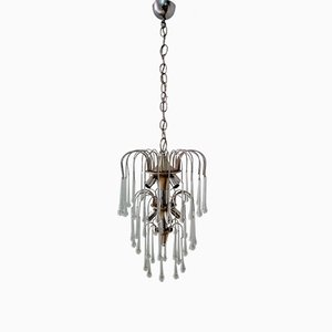 Vintage Waterfall Chandelier, 1970s