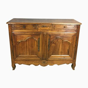 18th-Century Louis XV Buffet in Cherry