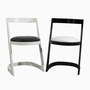 Chairs by Willy Rizzo, 1960s, Set of 2