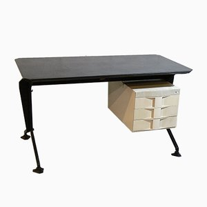 Vintage Arco Desk by Studio Architetti BBPR for Olivetti Synthesis