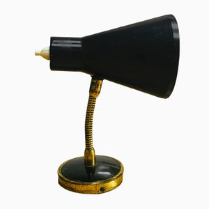 Mid-Century Messing Wandlampe