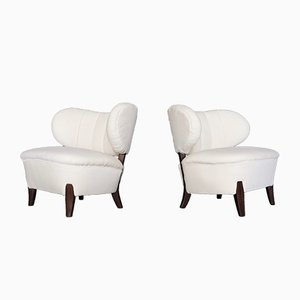 Vintage Easy Chairs by Otto Schulz for Boet, 1940s, Set of 2