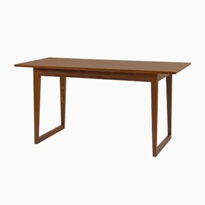 Vintage Danish Rosewood Coffee Table with Runner Legs
