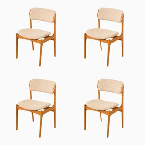 Stühle von O.D. Møbler, 1960er, 4er Set
