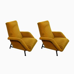 Armchairs by Guy Besnard, 1959, Set of 2