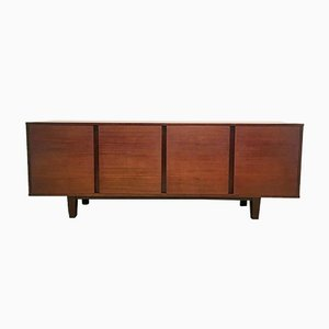 Vintage Mahogany Sideboard by Dieter Wäckerlin for Behr, 1960s
