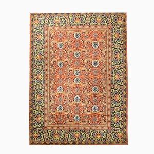 Antiker Türkischer Teppich mit Geißbockhorn & geometrischem Muster