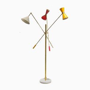 Lampada da terra Triennale, Italia, anni '50