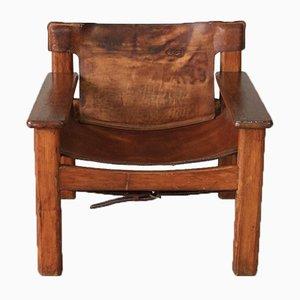 Safari Chair by Bernt Petersen, 1970s
