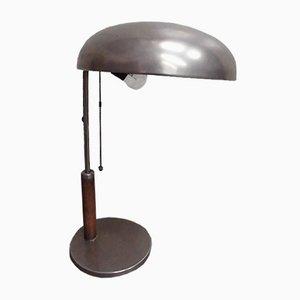 Lámpara de escritorio Bauhaus, años 20