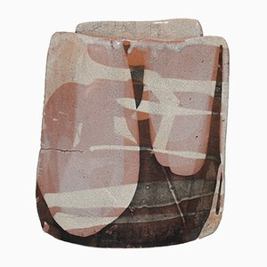 Vintage Raku Vase from Thierry Finidori