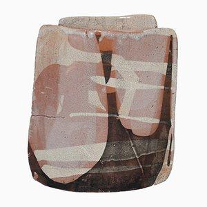 Vintage Raku Vase von Thierry Finidori