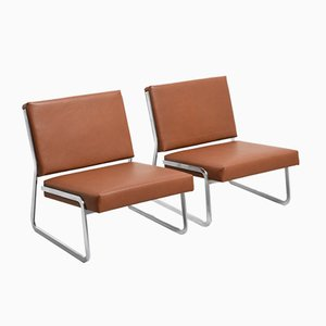 Steel Lounge Chairs by Paul Sumi for Lübke, 1960s, Set of 2