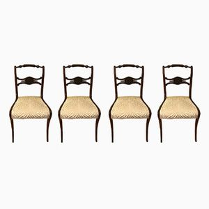 Vintage English Chairs, Set of 4