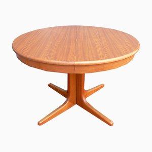 Scandinavian Extendable Teak Table, 1960s