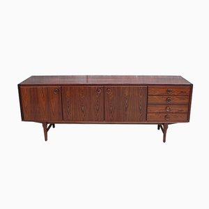 Vintage Scandinavian Rosewood Veneer Sideboard from Fristho
