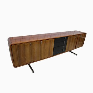 Credenza Mid-Century in palissandro, anni '70