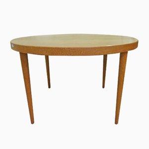 Tavolo vintage allungabile in legno di quercia di Kai Kristiansen per Skovmand & Andersen