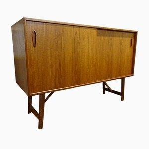 Kleines Vintage Sideboard aus Teak