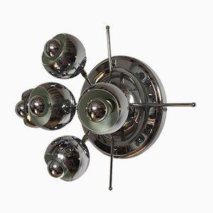 Vintage Space Age Sputnik Eyeball Wall Light