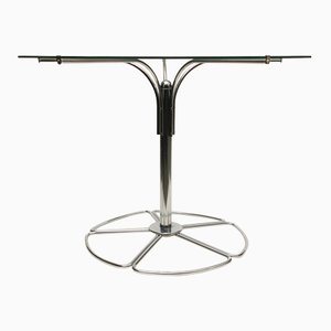 Scandinavian Tubular Glass Coffee Table, 1970s