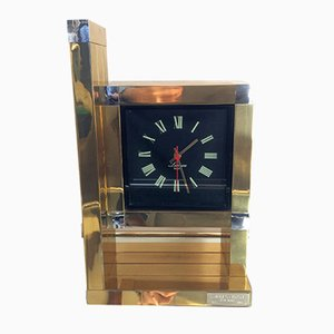 Horloge Vintage par Willy Rizzo pour Lumica