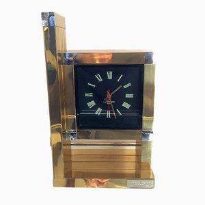 Vintage Uhr von Willy Rizzo für Lumica