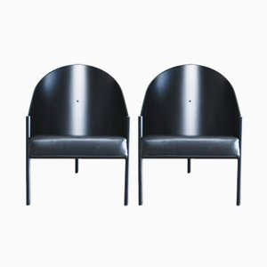 Poltrona Pratfall di Philippe Starck per Driade Aleph, set di 2