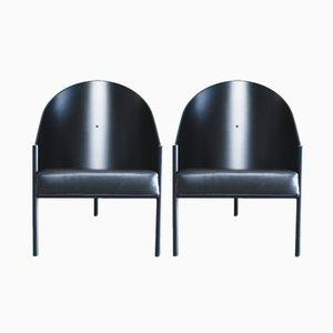 Pratfall Armlehnstuhl von Philippe Starck für Driade Aleph, 2er Set