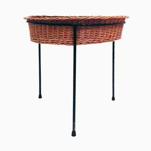 Braided Side Table, 1950s