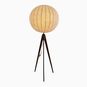 Dänische Moderne Stehlampe mit Teak Dreibein