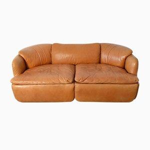 Confidential Two-Seater Sofa by Alberto Rosselli for Saporiti Italia, 1970s