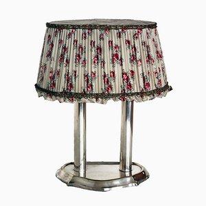 Lámpara de mesa antigua, década de 1900