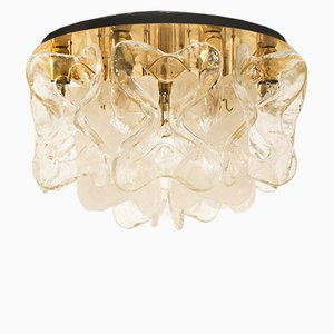 Flush Mount Ceiling Light from J.T. Kalmar, 1970s