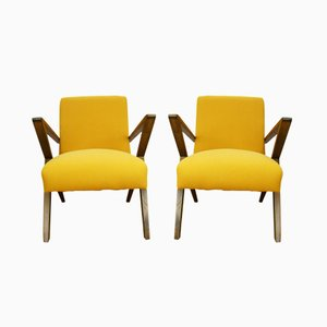 Polish Armchairs from Bydgoszcz Cooperative Odnowa, 1970s, Set of 2