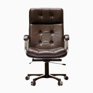 Norwegian Office Chair from Ring Mekanikk, 1970s