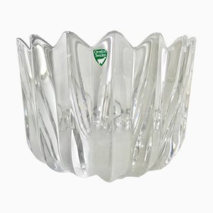 Vintage Crystal Bowl by Sven Palmqvist for Orrefors