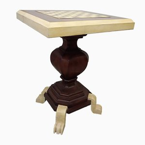 Tavolino da scacchi antico, Italia, metà XIX secolo